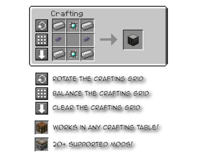 Crafting Tweaks Mod