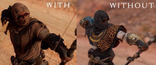 True Desert Raider – Skin Retexture