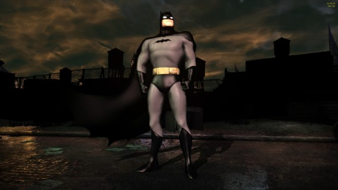 Batman The Animated Series New Outfit