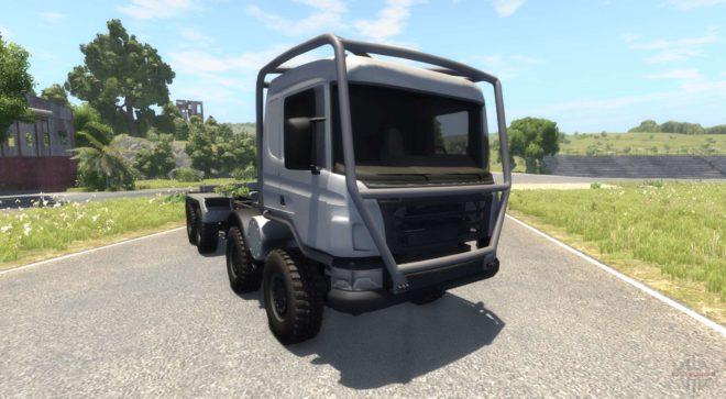 8×8 Heavy Utility Truck