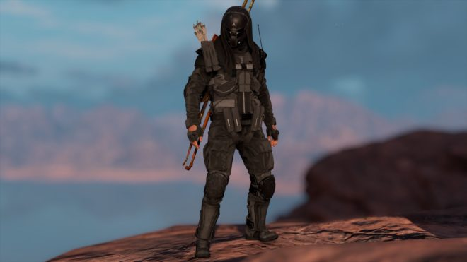 Black Abstergo Trooper