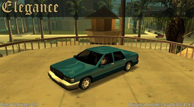 San Andreas Beta Vehicles V3
