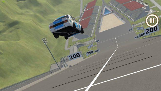 Car Jump Arena