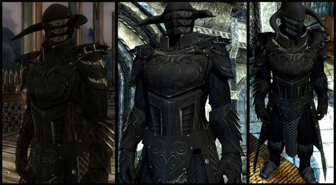 Black Overlord Armor