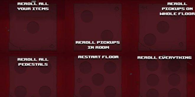 Dice Room Descriptions