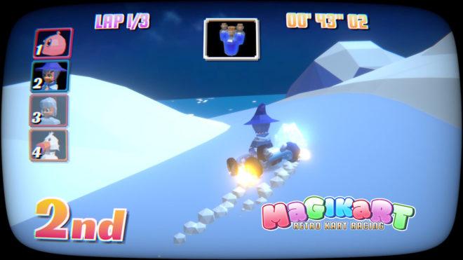 MagiKart: Retro Kart Racing
