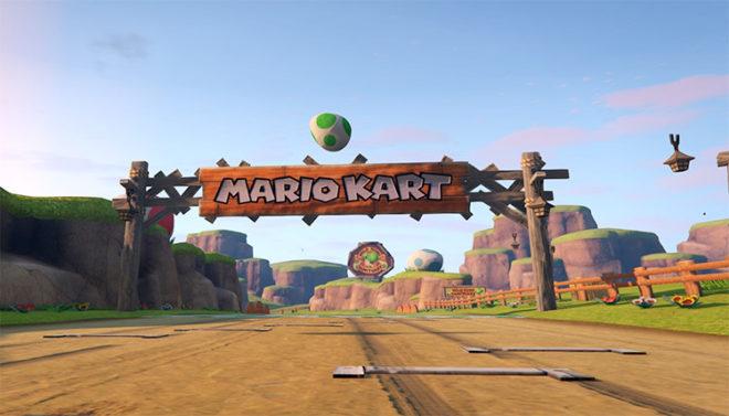 Mario Kart 8 – N64 Yoshi Valley