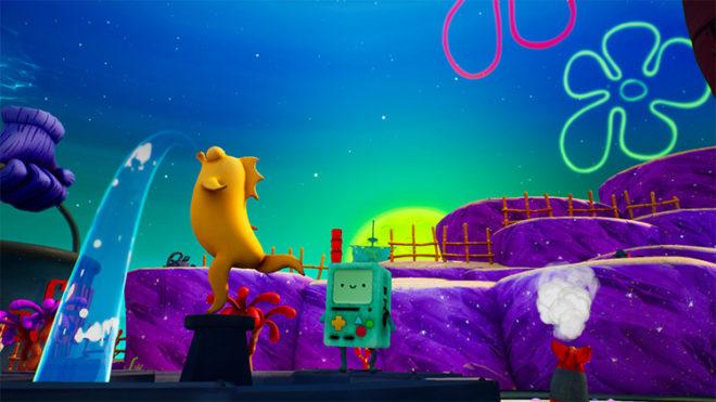 BMO Over Spongebob