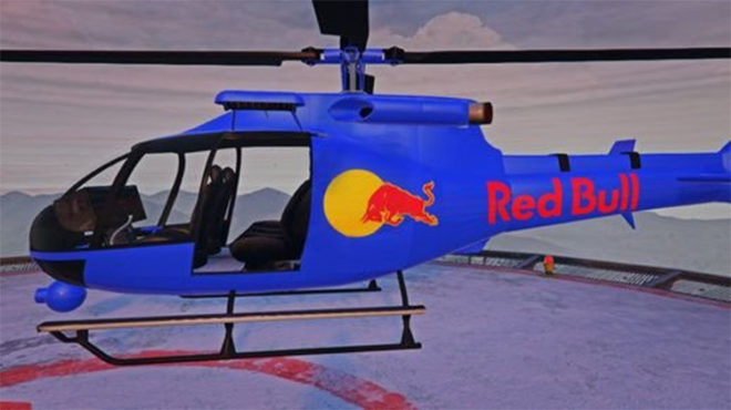 Red Bull Helicopter
