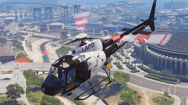 AS-350 Ecureuil (LAPD & CHP)