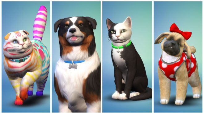 Читы для Sims 4 Cats & Dogs