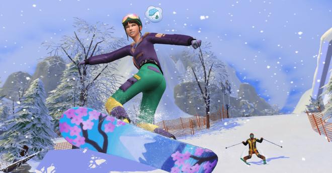 Читы для Sims 4 Snowy Escape