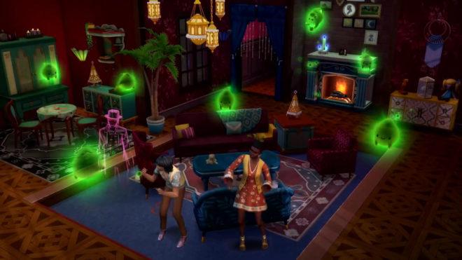 Читы для Sims 4 Paranormal
