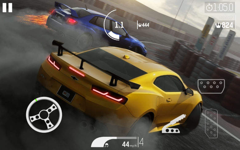 Игры про дрифт на Android