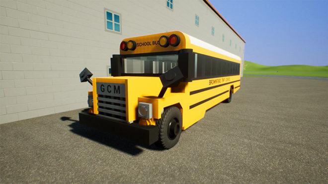 1975 GCM G-7 School Bus