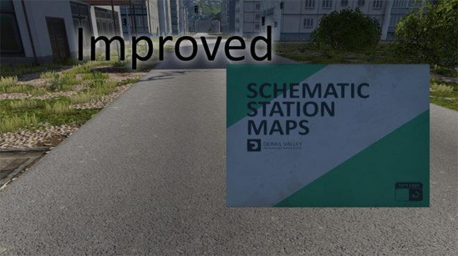 Enhanced Schematics Map