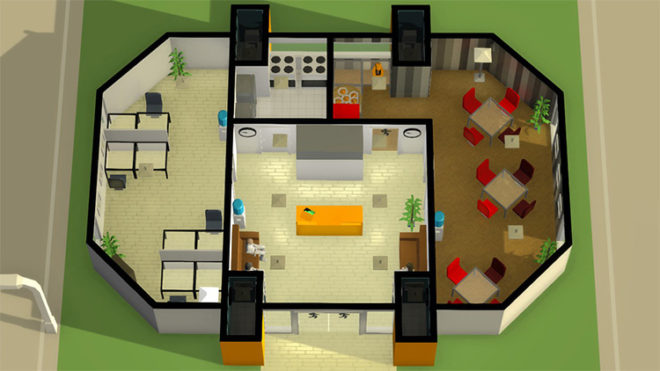 Small Modern Office