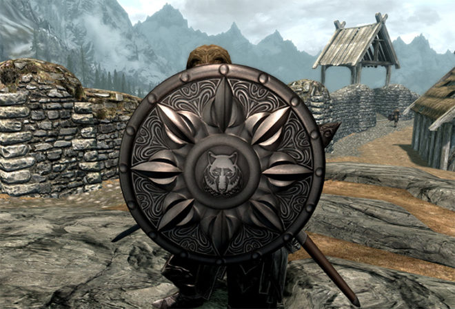 Shield of Solitude Replacer (Texture Mod)