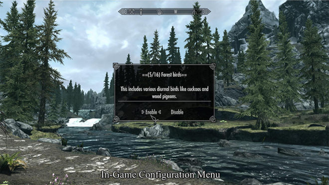 Sounds of Skyrim – The Wilds