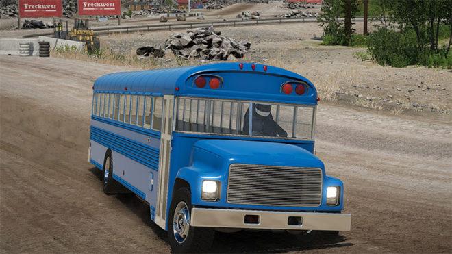School Bus: Showroom Model