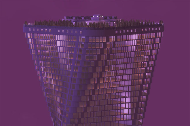 Skytwist Tower
