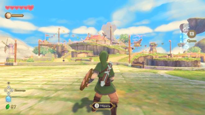 Обзор The Legend of Zelda: Skyward Sword HD