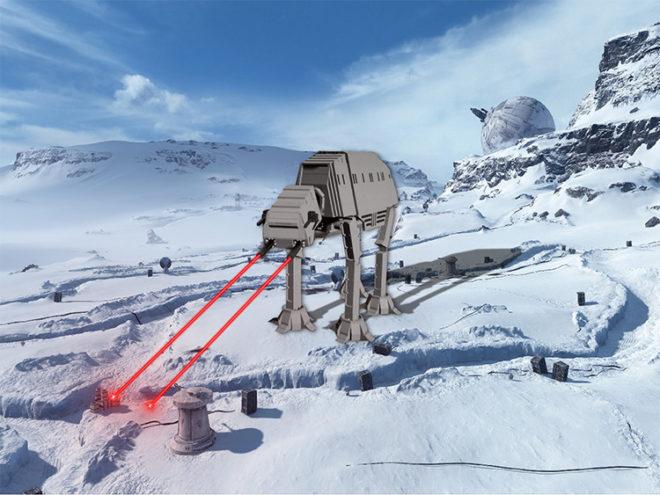 Scrumptious Star Wars AT-AT