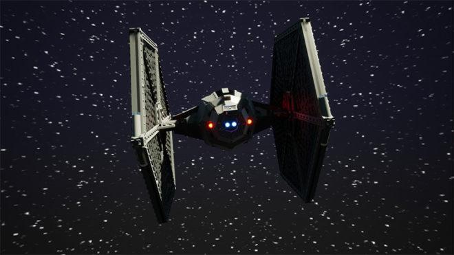 TT Star Wars TIE Fighter