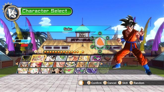 Dokkan Battle Character Selection