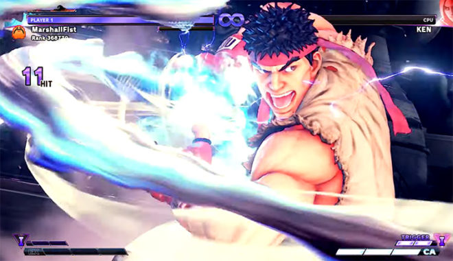 Street Fighter V Mysterious Mod