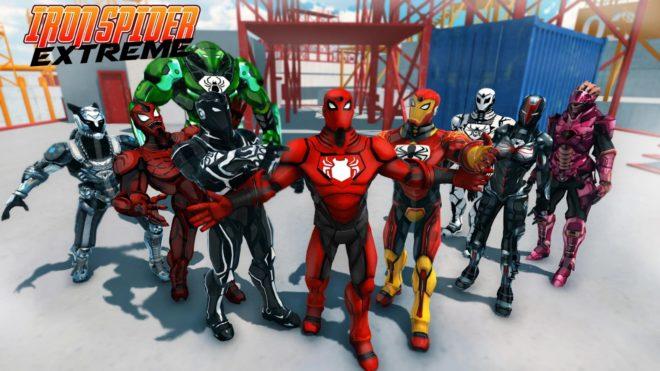 Iron Spider Extreme