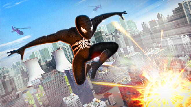 Spider Superhero Fly Simulator
