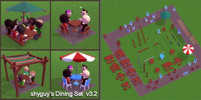 shyguy's Dining Set