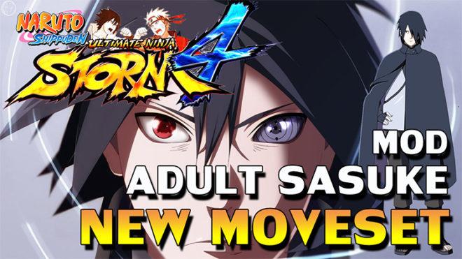 Adult Sasuke Moveset Mod