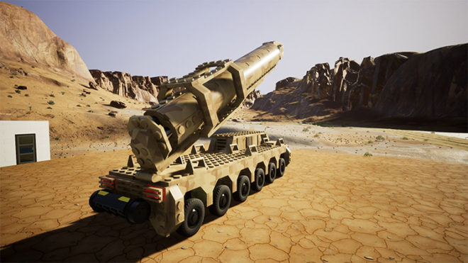 Nuclear Missile Truck