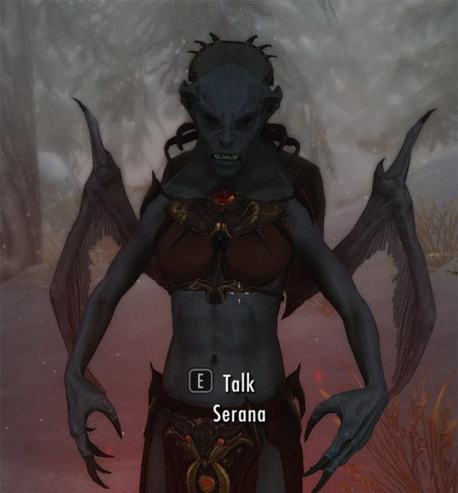 Vampire Lord Serana