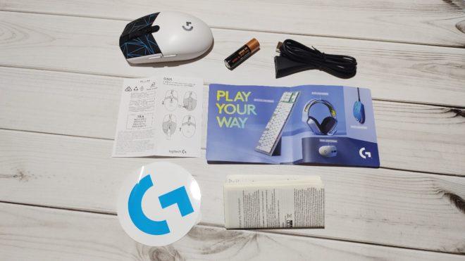 Обзор игровой мыши Logitech G305 K/DA