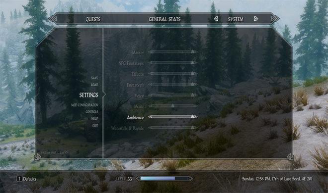 Audio Overhaul for Skyrim v2
