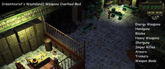 Weapons Overhaul Mod