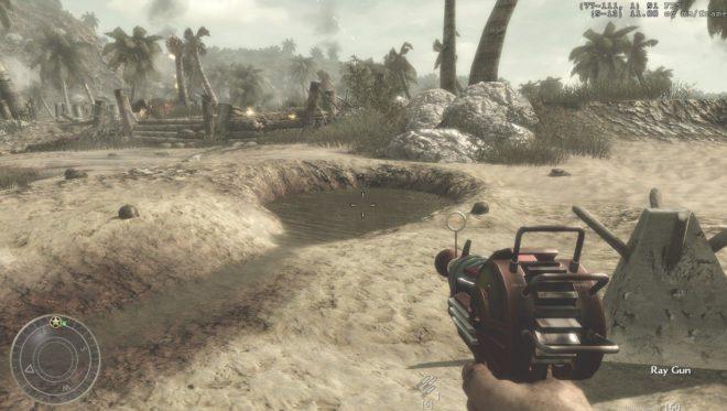 Спрятанная лучевая пушка