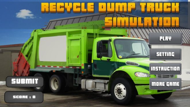 Recycle Dump Truck Simulation