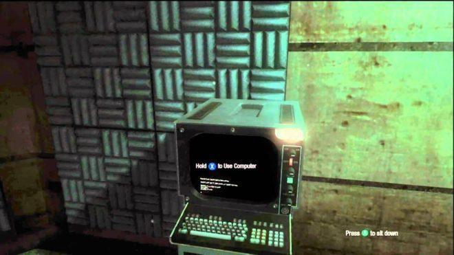 Компьютер в главном меню
