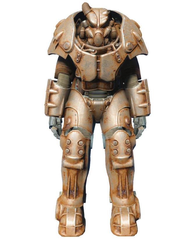 Силовая броня X-01