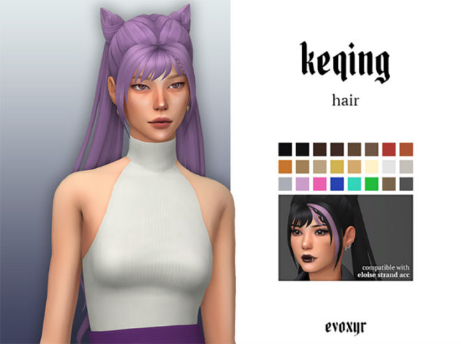 Keqing's Hairstyle
