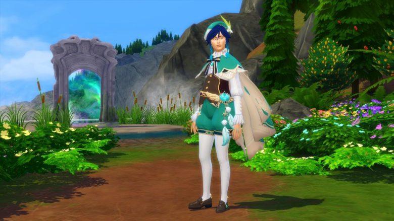 Лучшие моды по Genshin Impact для Sims 4